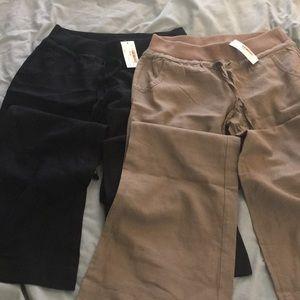 Pants - Love tree linen pants.  Black and mocha.
